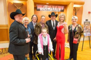 Boltz Family Photo at Cowboy Ball